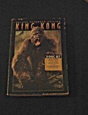 King Kong (3 DVD Set, 2006, Deluxe Extended Version) Jack Black, Naomi Watts