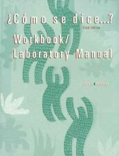 Como Se Dice Workbook Lab Manual Jarvis, Ana C. Paperback