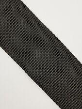 Black polypropylene webbing 50 mm strong and robust