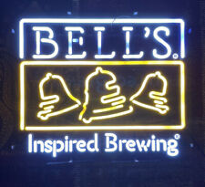 (Rare!) Bells beer brewing co neon light up sign game room man cave