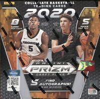2020-21 Panini Prizm Collegiate Draft Picks Basketball Hobby Box x 1