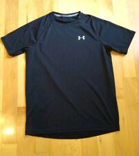 Men's Under Armour Running Shirt Black Size Medium