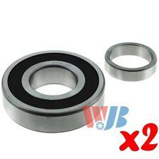 2 x Rear Inner Wheel Bearing w/ Lock Collar WJB WBRW130R Interchange RW-130-R GR