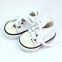 Puppen Schuhe Turnschuhe Sneakers Chucks Canvas Leinenschuhe 5 cm lang, Nr. 195