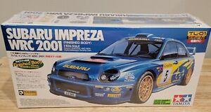 Tamiya Subaru Impreza WRC 2001 1/10 4WD RC Car 58277 GD Chassis Finished Body
