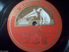 """THEODORE CHALIAPINE """"The Crees / Twofold Litany: Glory to Thee O Lord"""" HMV 78rpm"""