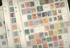 AUSTRALIAN STATES, Wonderful assortment of Stamps hinged on Minkus pages