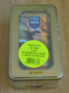 Panini Adrenalyn XL Fifa 365 2016 Limited Edition Tin Box Dose Lewandowski