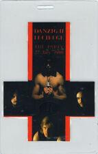 DANZIG 1990 LUCIFUGE LAMINATED BACKSTAGE PASS