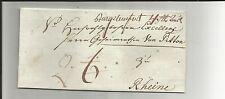 Di Prussia V/Castello pietra guado 4. STB. ausl., handschriftl. su gabinetto-tax. - LETTERA