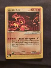 2003-2006 Pokemon Nintendo Black Star Promos Groudon ex #002
