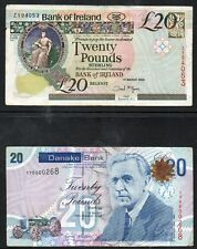 More details for *northern ireland* *bank of ireland & danske bank* *replacement £20 notes* z&yy