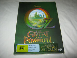 Oz - The Great and Powerful - Includes 4 Collectable Art Cards - VGC - DVD - R4