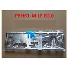 NEW IO I/O SHIELD back plate BLENDE BRACKET for ASUS P8H61-M LE R2.0