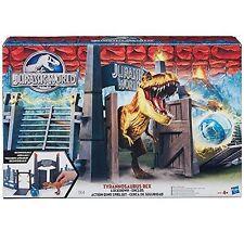 Jurassic World Bash 'n Bite T-rex Tyrannosaurus Rex Lockdown Playset Age 4