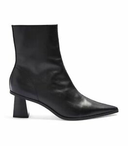 ! EX TOPSHOP ! BRAND NEW LADIES WOMENS BLACK MAILE BOOTS SIZE 5 RRP £59.00