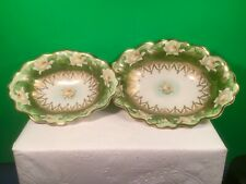 Antique Water Lily Bowls Set of 2
