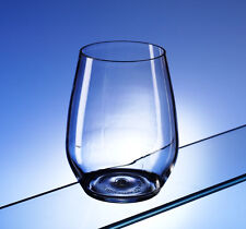 Finest Pair of Unbreakable Polycarbonate Water Glasses / Stemless Wine Glasses