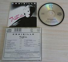 RARE CD ALBUM JAZZILLE NICOLE CROISILLE 9 TITRES 1987