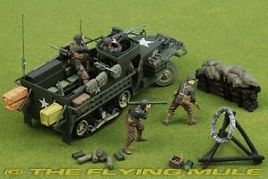 Forces Of Valor 1:32 Scale U.S M3A1 Half-Track Normandy 1944 Diecast NIB