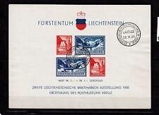 Liechtenstein Block 2 Sonderstempel, einwandfrei, sauber gestempelt, siehe Scan