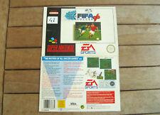 FIFA Soccer 96 (1995) Super Nintendo (SNES) COVER SNSP P A6SP - NO CARTUCCIA