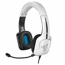 PLAYSTATION 4 * TRITTON KAMA WHITE STEREO GAMING HEADSET * PS4