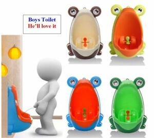 Frog Kids Baby Potty Toilet Training Urinal Boys Pee Toddler Trainer Bathroom