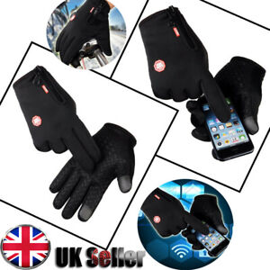 Winter Warm Windproof Waterproof Anti-slip Thermal Touch Screen Gloves Outdoor