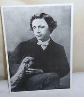 RPPC Lewis Carroll British Author Alice In Wonderland Free Shipping