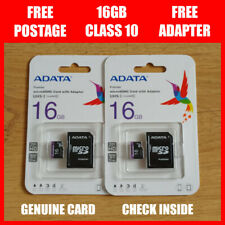 ADATA 16GB Micro SD Card 16G SDHC Class 10 TF Memory Card with FREE Adapter