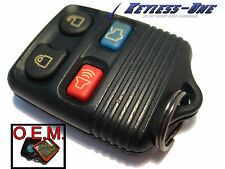 00-05 LINCOLN TOWN CAR KEYLESS ENTRY REMOTE OEM 4B:8S4T-15K601-AB FCC CWTWB1U345