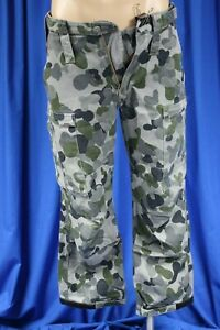 Australian Navy DPNU Camo Uniform Trousers 75S , Good used condition  No2 #CR