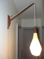 ancienne applique lampe potence ROTAFLEX design french wall light ARP guariche