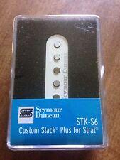 Seymour Duncan Custom Stack Plus Pickup For Statocaster White STK-S6 11203-16-Wc
