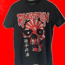 Ringspun Skull Rising Sun T Shirt
