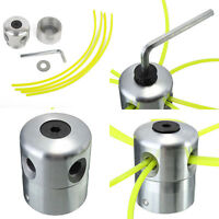 Aluminium Line Head Double Trimmer Head Bobbin Set for Gasoline Brushcutter