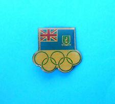 BRITISH VIRGIN ISLANDS NOC - nice rare olympics pin badge * Olympic Games