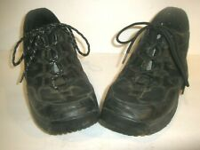 WOMENS Z COIL Z-COIL LEATHER LACE UP SHOES SIZE 10