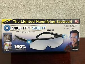 MIGHTY SIGHT DELUXE, THE LIGHTED MAGNIFYING EYEWEAR (as seen on TV) UNISEX
