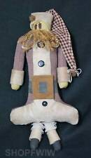 "W.T. Collection 22"" Primitive Plush Santa Doll"
