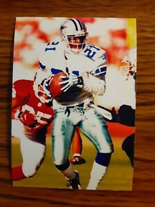Deion Sanders Cowboys Football 4x6 Game Photo Picture Card