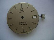 Mouvement cadran calibre Eta 490 automatic watch dial Port royal Zenith