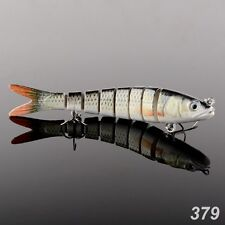 142mm Multi Jointed Hard Fishing Lure Bait Segment Swimbait Fishing Tackle Pike
