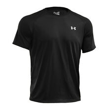 Under Armour Mens Tech Short Sleeve Gym Sports T Shirt Black 1228539