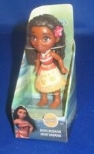 DISNEY PRINCESS COLLECTOR MINI TODDLER DOLL POSABLE FIGURE MOANA, NEW