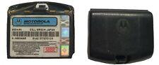 Battery External NNT8114AR Fits Motorola Original Black Back Replacement OEM