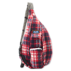 Kavu Women's Plaid Rope Bag (More Colors Available)