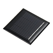 TOP 2V Monokristallin Solarpanel Solarmodul Solarzelle 0,24W 120mA zur Aufladung