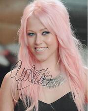 AMELIA LILY Signed 10x8 Photo X FACTOR COA